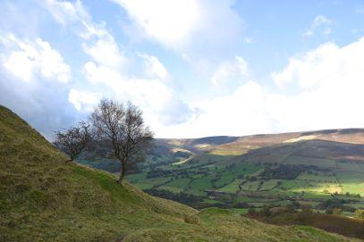 Views overlooking the Peak District