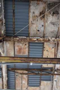 Deteriorating architecture makes for beautiful textures that need to be photographed