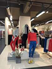 First bite womenswear display done for Aton store