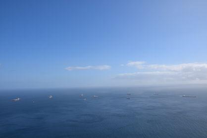 View to the horizon