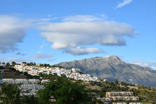 View from Benahavis