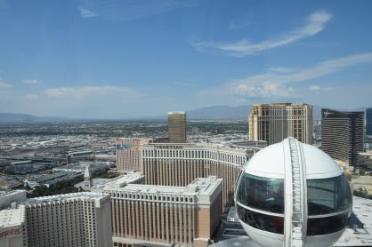 High angle view of the casinos