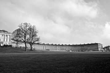 Full view of the Royal Crescent