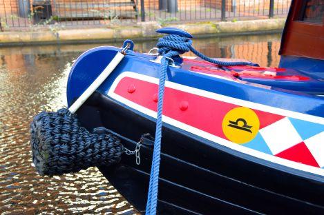Colourful narrow boats are my fav thing