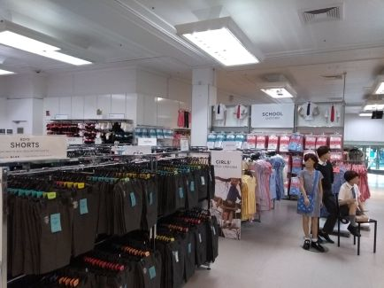 Schoolwear department expansion