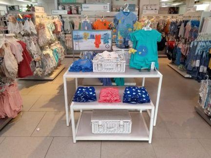 Baby swimmwear table