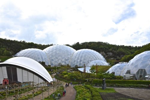 View of the domes