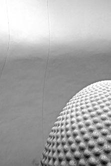 Black + white sculpture