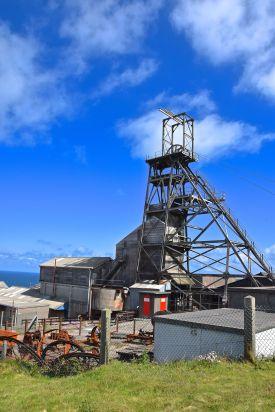 The mine shaft